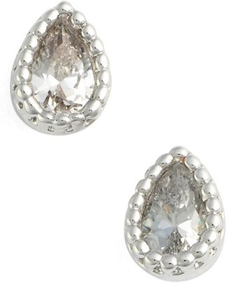 Women's Jules Smith Micro Teardrop Stud Earrings $25 thestylecure.com