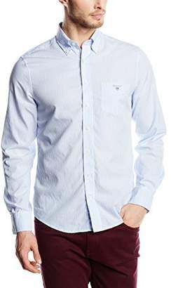 Gant Men's The Broadcloth Banker Stripe Slim Fit Button Down Shirt