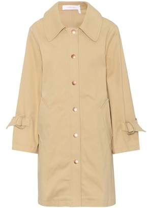 See by Chloe Cotton-twill coat