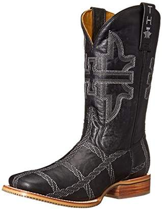Tin Haul Shoes Men's Rope Burn Western Boot