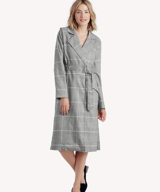 Sole Society High-Slit Belted Coat