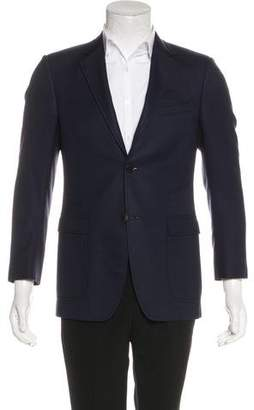 Gucci Patterned Wool Blazer