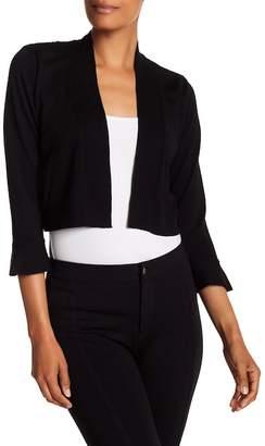 Modern American Designer Lace Back Ruffle Sleeve Shrug