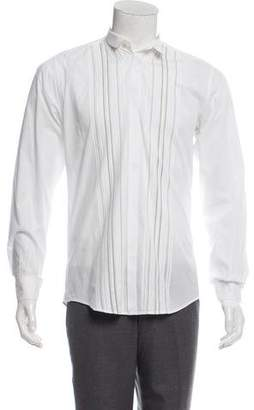 Dolce & Gabbana Pleated Dress Shirt