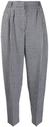 Alexander McQueen tweed balloon-leg trousers