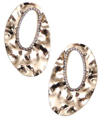 Nakamol Design Rhinestone Drop Earrings