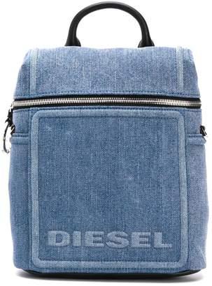 Diesel Compact denim backpack