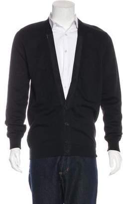 Givenchy Jacquard Wool Cardigan