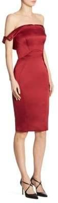 Zac Posen Off-The-Shoulder Dress