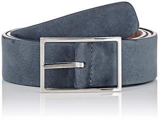 Simonnot Godard Men's Nubuck Belt