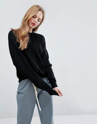 Asos Jumper In Oversized With Crew Neck