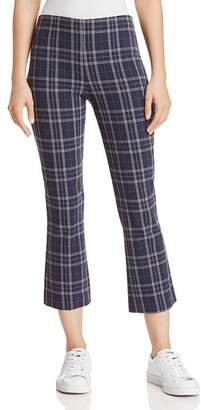 Bailey 44 Campus Plaid Cropped Flared Pants