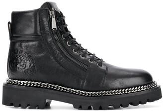 Balmain side zip boots