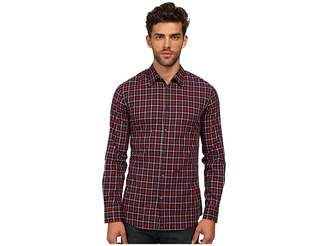 DSQUARED2 M.B. Shirt Men's Long Sleeve Button Up