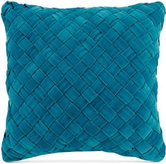 """Vera Bradley Woven Velvet 16"""" Square Decorative Pillow Bedding"""