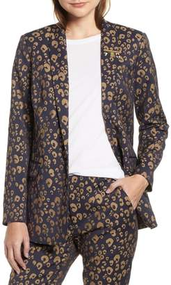 Scotch & Soda Stretch Jacquard Tailored Blazer