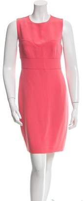 Diane von Furstenberg Scoop Neck Mini Dress w/ Tags