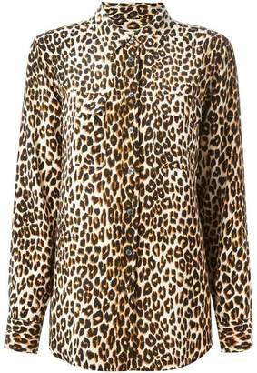14d5d9d2f5b01f Equipment Leopard Print Shirt - ShopStyle UK