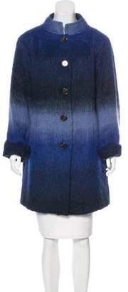 Tory Burch Textured Knee-Length Coat