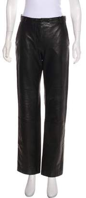 Helmut Lang Vintage Leather Pants