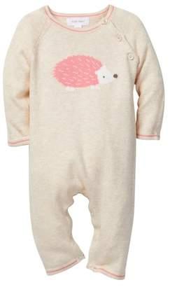 Angel Dear Hedgehog Intarsia Coverall (Baby Girls)