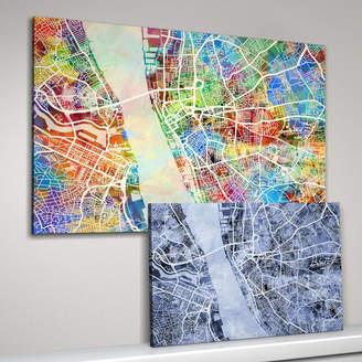 artPause Liverpool Map Art Print