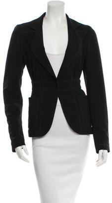 John Varvatos Silk Long Sleeve Jacket $95 thestylecure.com