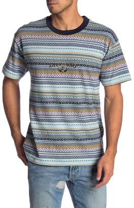 Billabong Reissue Striped Crew Neck Tee