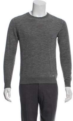 DSQUARED2 Rib Knit Crew Neck Sweater