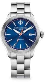 Baume & Mercier Clifton Club 10412 Blue Stainless Steel Watch