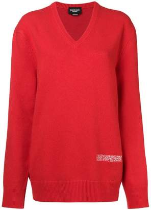 Calvin Klein oversized knited jumper
