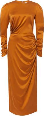 Zimmermann Silk Draped Dress