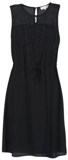 Cream DONA women's Dress in Black
