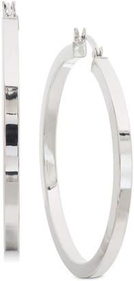 "Giani Bernini Large Square Tube Hoop Earrings in Sterling Silver, 1.8"""