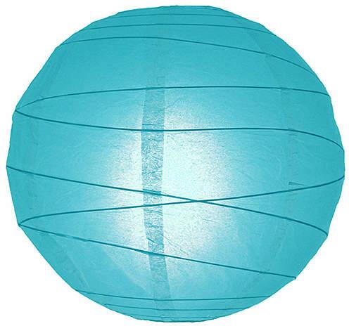 Blue Paper Lantern - Set of Six