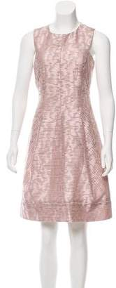 J. Mendel Jacquard Sleeveless Dress