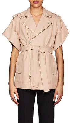 RED Valentino WOMEN'S WOOL-BLEND BELTED JACKET