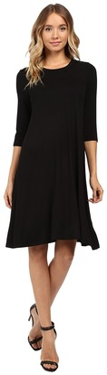 Christin Michaels - Abida 3/4 Sleeve Flowy Dress Women's Dress $69 thestylecure.com