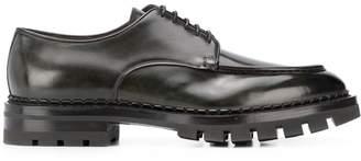 Santoni chunky sole shoes