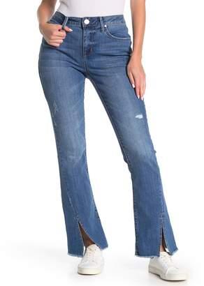 Seven7 High Rise Micro Bootcut Split Cuff Jeans