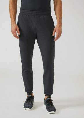 Emporio Armani Ea7 French Terry Stretch Cotton Joggers