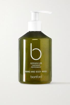Bamford Geranium Hand & Body Wash, 250ml - Colorless