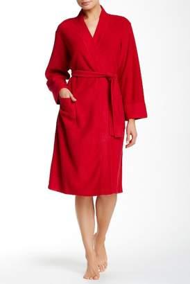 Natori Nirvana Fleece Lined Midi Robe