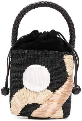 Aranaz wicker basket bag