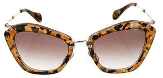 bcb18ccd8b3b Pre-Owned at TheRealReal · Miu Miu Gradient Cat-Eye Sunglasses