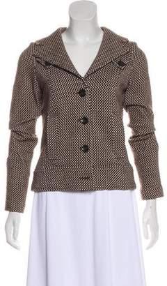 Diane von Furstenberg Tweed Casual Jacket