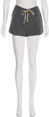 3.1 Phillip Lim Silk-Blend Mini Shorts