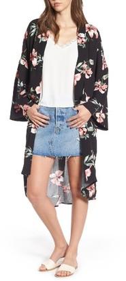 Women's Mimi Chica Floral Print Kimono $42 thestylecure.com