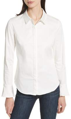 Ted Baker Fluted Scallop Trim Shirt