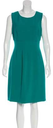Lela Rose Sleeveless Knee-Length Dress